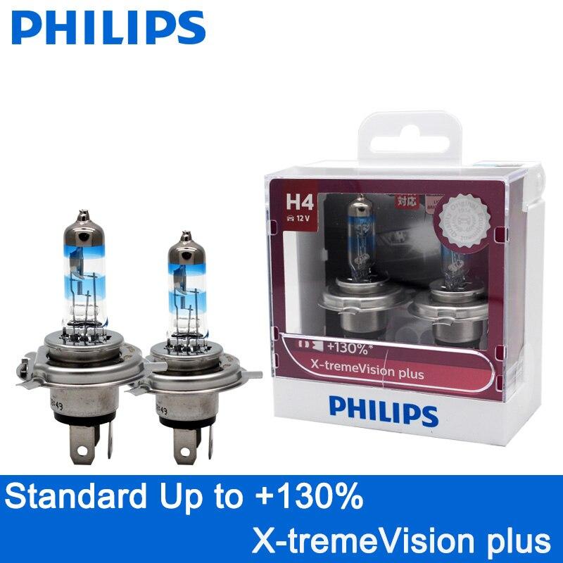 Ampoule Phare Philips Racingvision H4 150/% Plus Lumière Lampe Halogène 12342RVS2