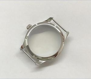 Image 5 - Parnis 44mm 316l caixa de relógio aço inoxidável caber 6497/6498 movimento vento mão mecânica 02