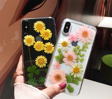 Summer Wind Daisy Real Phone Case for Iphone 6Case Iphone 7 Case Iphone 7 Plus Cases Iphone 8 Plus Case Luxury Iphone 7plus Case cheap ONEVAN Half-wrapped Case Apple iPhones iPhone5c iPhone 6 Plus IPHONE 6S iPhone 6s plus iPhone 5s Iphone SE IPHONE X IPHONE XS MAX
