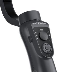 Image 5 - BlitzWolf 3 ציר bluetooth כף יד Gimbal מייצב עבור iPhone Youtube Vlog לxiaomi עבור Huawei טלפון סלולרי חכם חלק