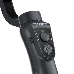 Image 5 - BlitzWolf BW BS14 Estabilizador de cardan portátil de 3 eixos para iPhone Youtube Vlog Xiaomi Huawei Telefones celulares Smartphone Transmissão ao vivo Filmagem de vídeo Tour de viagens Tiktok