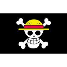 90x150 cm macaco de uma peça d. Luffy Crânio Bandeira