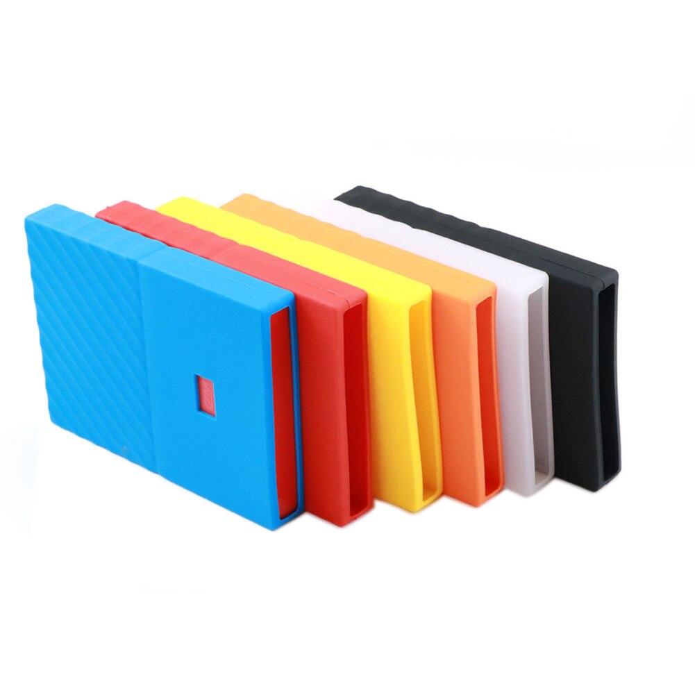 Силиконовый чехол для жесткого диска 2,5 дюйма, защитный чехол для жесткого диска 2,5 дюйма для WD My Passport, 1 ТБ, 2 ТБ