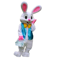 Rabbit Mascot Costume Suits Bunny Cosplay Party Outfits Clothing Advertising Promotion Carnival Halloween Xmas Easter Adults