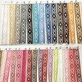 10 мм Алмазный Национальный центр по исследованию энергии ветра жаккардовых лент стиль одежды декоративные подарок DIY ручной ткацкая лента