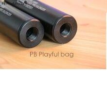 CS – jouets de sport de plein air pour adultes, matériel de mise à niveau, G17 G18, avec dents inverses de 14mm, silencieux, accessoires de pistolet à balles d'eau pd101