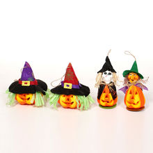Halloween DIY Decorations Child Witch Pumpkin Lantern Lamp Decoration Prop Party Home Decor