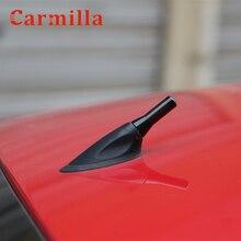 3.5cm Universal Black Carbon Fiber Short Car Roof Radio Aerial Fm Antenna for Fit BMW Mini Cooper S JCW R55 R56 R57 R60