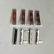 Potenciómetro de deslizamiento recto estéreo de dos canales, 10 Uds. De largo 45mm, 4,5 CM, fader B10K B100K