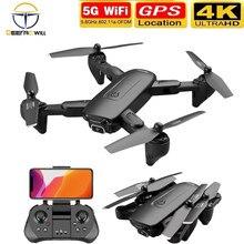 2021 novo f6 mini zangão gps com câmera hd 4k 5g fpv wifi profesional rc zangão rc helicóptero quadrotor brinquedos para meninos presentes