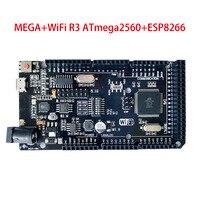 Mega + wifi r3 atmega 2560 uno + wifi r3 atmega 328 p módulo esp8266 32 mb memória USB TTL ch340g compatível para arduino nodemcu wemos|Peças e acessórios em 3D|   -
