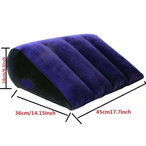 Image 5 - Inflatable Love Pillow Sex Wedge Position Cushion Sexy Gift Furniture Wedge Adult Magic Love Games Toys Couples Pillow