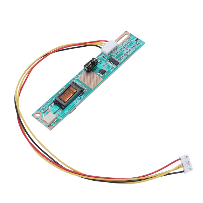 2 Pcs Universal Ccfl 1-Channel 1 Lamp Bhs560 Connector Inverter Board Lcd Panel Monitor Single Lamp W/ Cable For 7-17Inch Scre