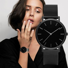 New Arrive Simple Fashion Women Watch Women Quartz Wristwatc