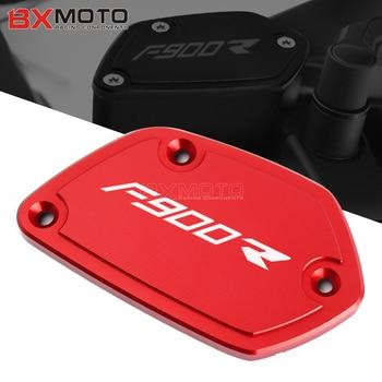 Accesorios de motocicleta copa de líquido de frenos para BMW F900R F900 R F 900R 2020 depósito de frenos delanteros tapa de tanque CNC tapas de copa de aceite
