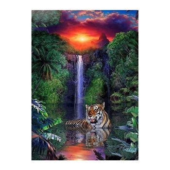 DIY 5D Diamond Painting by Number Kit for Kids Adults, Full Round Drill waterfall Embroidery Dotz - discount item  26% OFF Arts,Crafts & Sewing