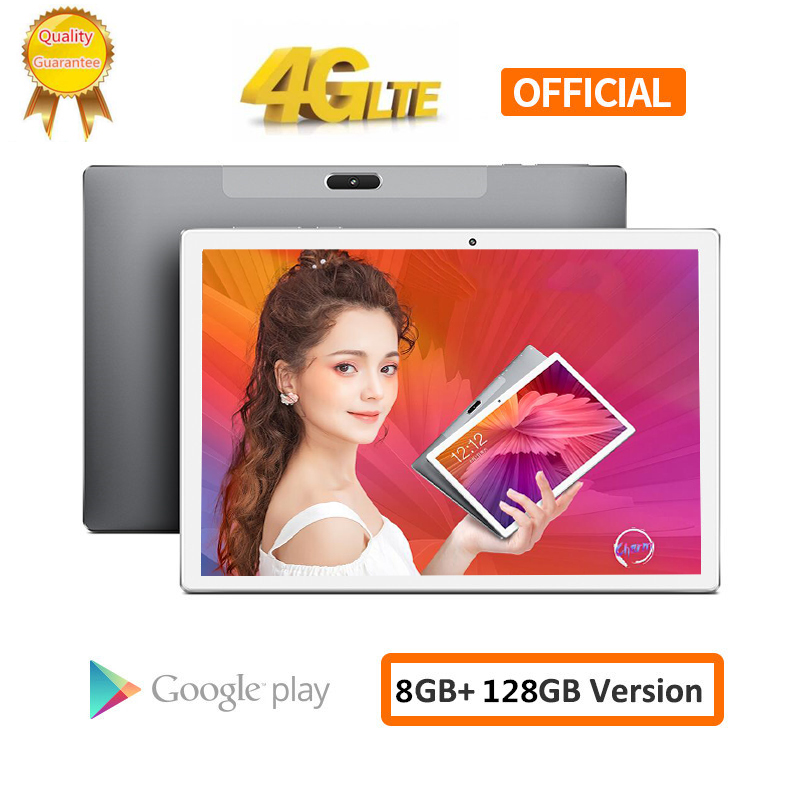 2020 4G Tablets 10 Inch Deca Core 4G FDD LTE Tablet PC 8GB RAM 128GB 256GB ROM 13.0MP Camera Android 9.0 Netflix Wifi Phone
