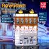 MOC créateur cristal maison briques ville rue série modèle blocs de construction jouets pour enfants Compatible avec lepining 10224 cadeaux