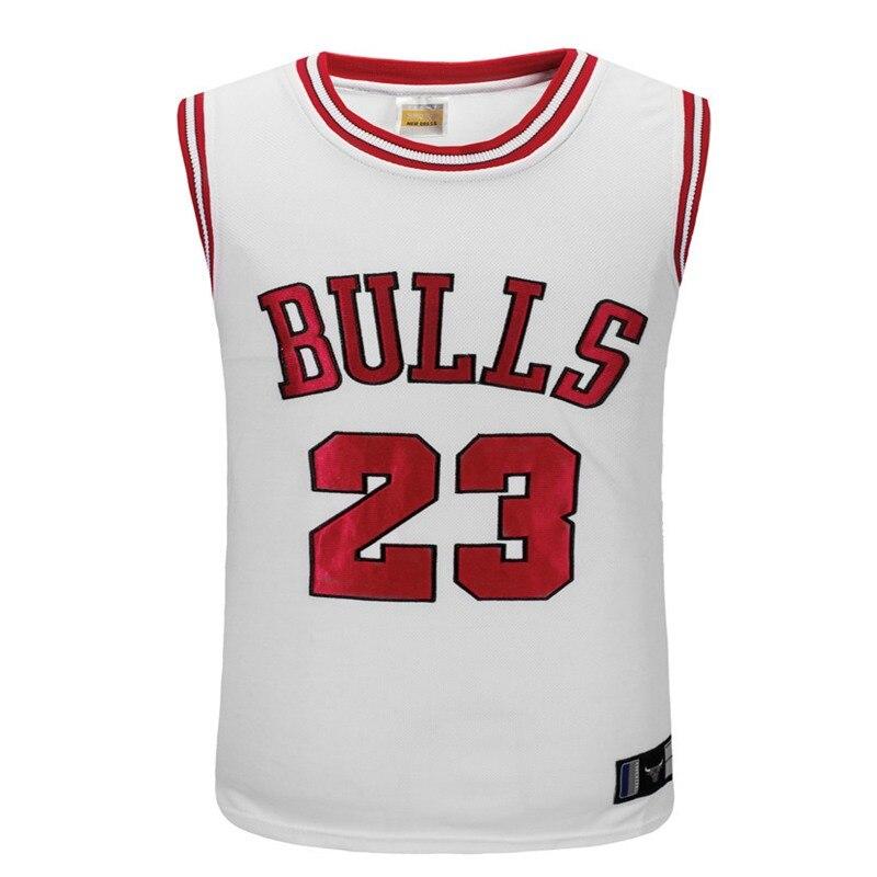 Suit Jersey Training-Sportswear Team-Uniform Bulls 23 Sleeveless Breathable Embroidery