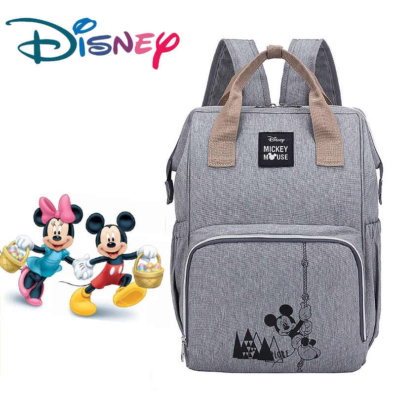 Disney Diaper Bag Backpack Large Capacity Waterproof Nappy Bag Kits Mummy Maternity Travel Backpack Nursing Handbag baby bags
