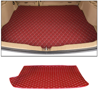 Car trunk mat for Mitsubishi Pajero Sport 2011 2012 2013 2014 2015 car tail box mat accessories styling