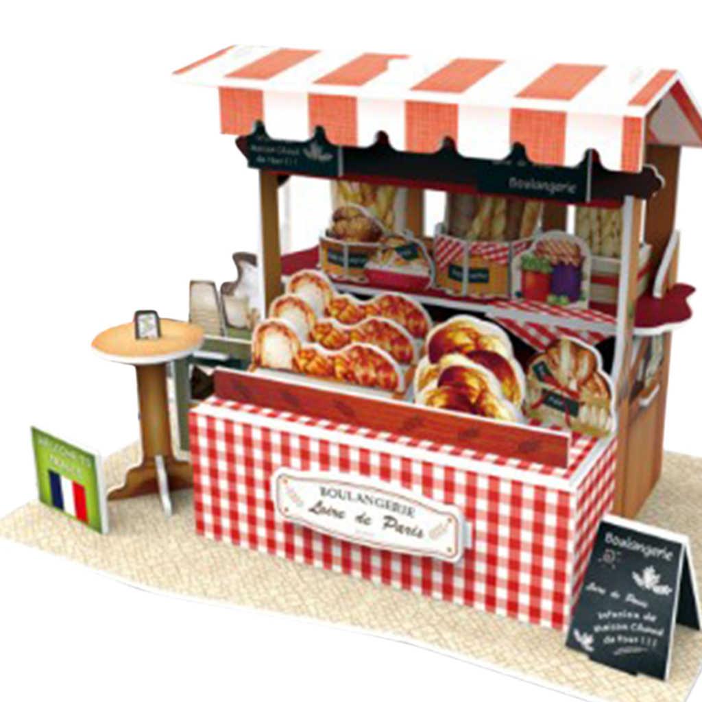 Gỗ Nhà Búp Bê Mini DIY Ngôi Nhà Nhỏ Bộ Shop Gian Hàng Mẫu Chơi Đồ Chơi Nhà Tác Phẩm Nghệ Thuật Trang Trí Trẻ Em Sinh Nhật Quà Tặng Giáng Sinh