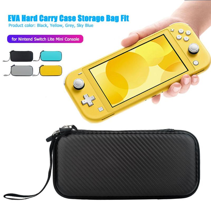 EVA Hard Carry Case Bag waterproof shockproof hard shell for 10 card slots storage for Nintend Switch Lite Mini Console(China)