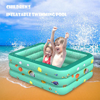 Children Inflatable Swimming Pool Inflatable Bathtub Kids Summer Water Fun Play