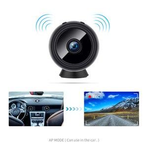 Image 4 - 2,0 MP Protable Mini IP Kamera WiFi 1080P HD Kleine Sicherheit Kamera Drahtlose Batterie Kamera Nachtsicht Auto Überwachung kamera