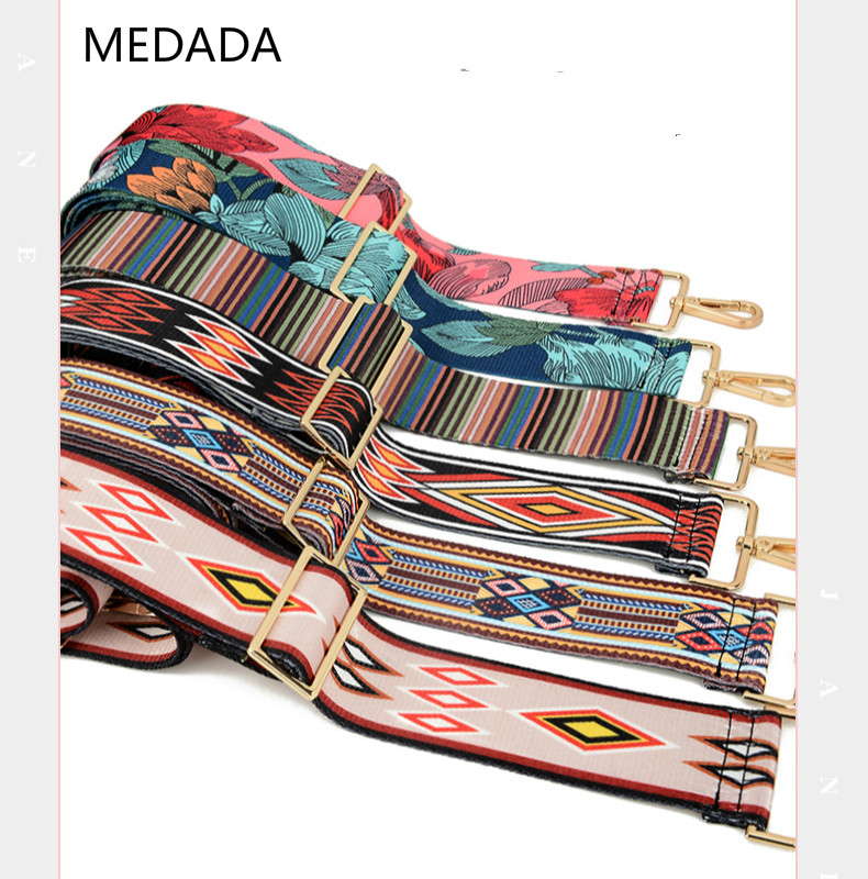 MEDADA Baggage fittings inclined adjustable strap to replace men's and women's wide shoulder strap title=