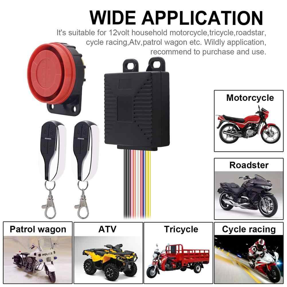 130DB High Decibel Vibration Induction Burglar Alarm with Remote Control Bicycle//Motorcycle Anti-theft Security Alarm