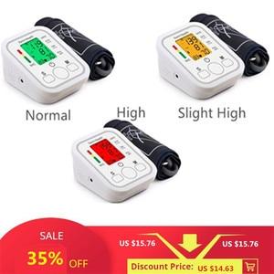 Image 2 - Saint Health Arm Automatische Blutdruck Monitor BP Blutdruckmessgerät Druck Meter Tonometer für Mess Arterielle Druck