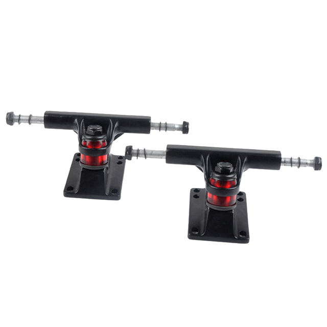 2 piezas de aleación Universal Tabla patines Longboard Skateboard puente  Skate camión soporte Kickstand aluminio y magnesio