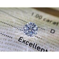 D Цвет свободные Муассанит 1ct карат 6,5 мм круглой бриллиантовой огранки из подручного материала свободные бусины с сертификатом драгоценног...