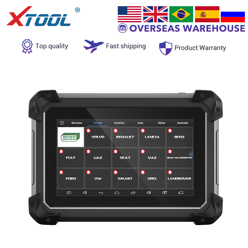 XTOOL EZ300 PRO Professional Car Diagnosis Engine Tool With 4 Systems ABS SRS AT TPMS Read ECU Read DTCs Maintenance Light NEW