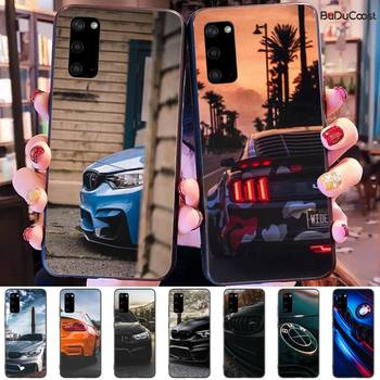 Sports Car Design Bmw Soft black Phone Case for Samsung Galaxy S10 S10E Lite s6 s7 s8plus s9plus S5 S20 image