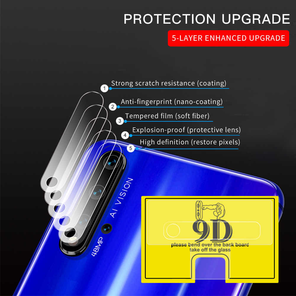 9D Camera Glass Film For Huawei Mate 20 10 P20 P30 Pro Mate 20X Screen Protector For Huawei Honor 9X 20 Pro 8X 10i 20i 10 9 Lite