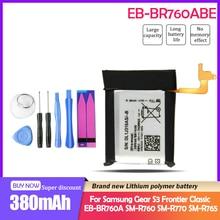 Montre connectée de remplacement, batterie et outil, pour Samsung Gear S3 Frontier Classic 380 EB-BR760ABE EB-BR760A SM-R760, SM-R770 mAh, SM-R765