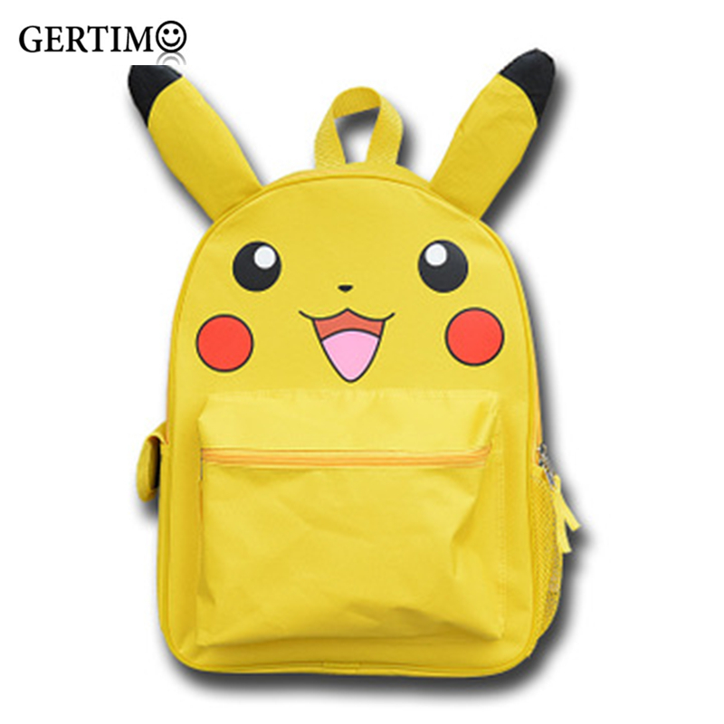 Japanese Anime Backpack Bag Cute Cartoon Pikachu Pokemon Children School Bags Kids Boys Girls Backpacks Student Bookbag Gift