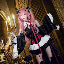 Japanese JSK Sweet women lolita dress gothic lolita renaissance victorian dress Anime Krul Tepes princess Dress tea party(China)