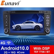 Eunavi 2 din android 10 автомобильный мультимедийный плеер для