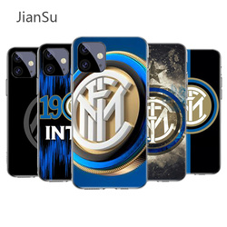 Inter club Case for Apple iPhone 12 11 X XR XS Max 7 8 6 6S Plus 5 5S SE 2020 Silicone Phone Cover