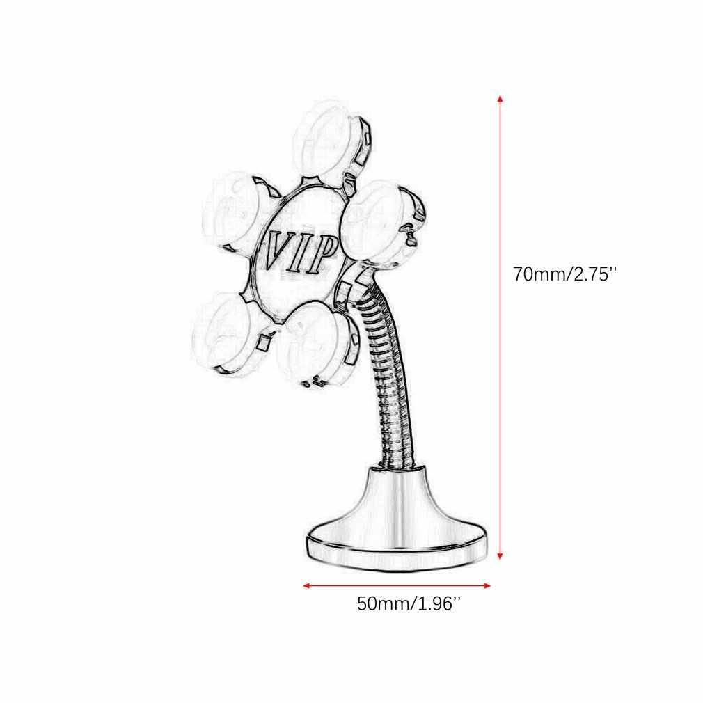 Universal Sucker Stand Pemegang Ponsel 360 Derajat Diputar Magic Hisap Mount untuk iPhone 5 6 7 Xiaomi Tablet Malas Braket