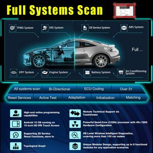 Image 2 - Thinkcar Thinktool Pro Full Systems Professional Diagnostic Tool ECU Coding Key Fob Program Adblue 31+ Reset pk LAUNCH X431 V