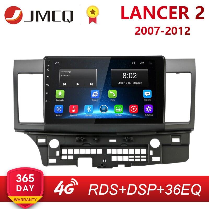 Autoradio Android 2G + 32G pour Mitsubishi Lancer 2007-2012 10 pouces 4G NET + WiFi RDS DSP Audio vidéo multimédia 2 Din voiture lecteur Dvd