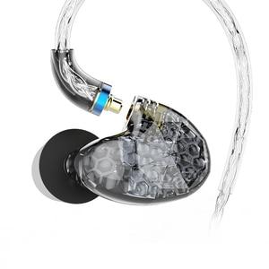 Image 4 - AUDIOSENSE T260 PRO  Detachable MMCX 8Strands 19Core SCX  Wire  2 Knowles Balanced Armature Monitor HiFi  Earphone