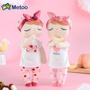 Image 1 - Kawaii Stuffed Plush Animals Cute Backpack Pendant Baby Kids Toys for Girls Birthday Christmas Keppel Doll Panda Metoo Doll