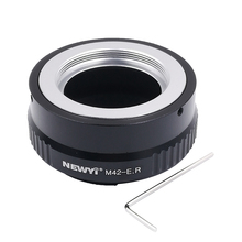 Newyi Lens Adapter Ring for M42 Eos R Adapter for M42 Mount Lens To Canon Eos R Rf Mount Camera