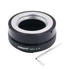 Newyi แหวนอะแดปเตอร์เลนส์สำหรับ M42 Eos R อะแดปเตอร์สำหรับ M42 เลนส์ Canon EOS R RF Mount กล้อง