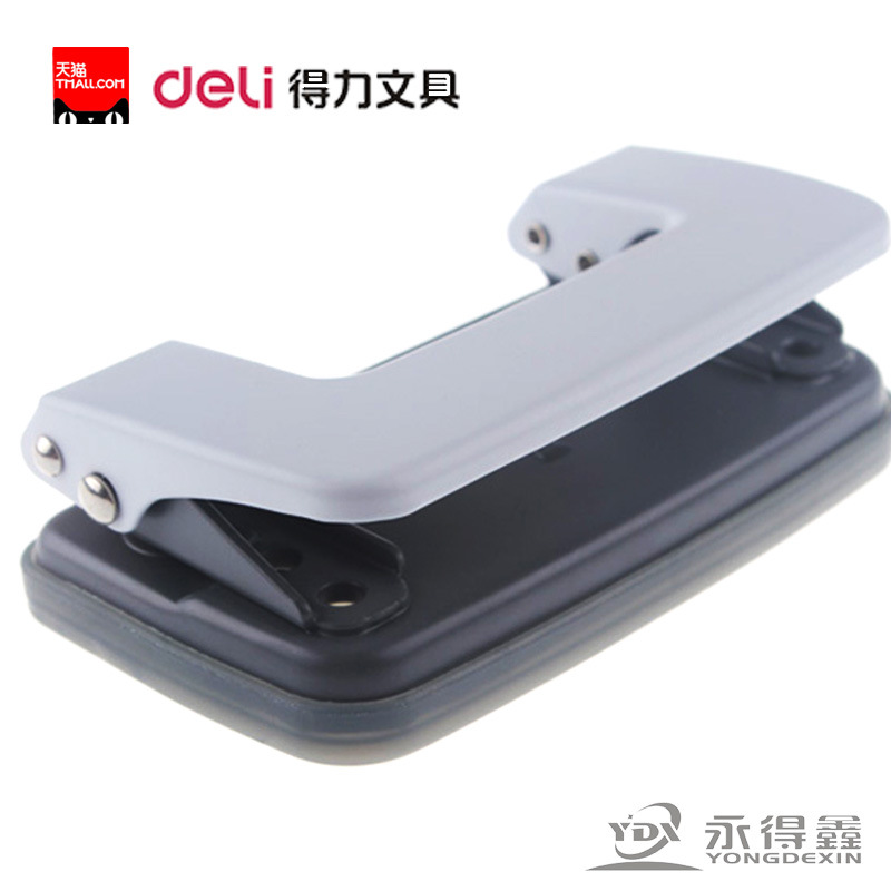 Hole Puncher 0101 10-page Two-hole Paper Punch Mini Punch Hole-punching Device Paper Punches For Scrapbooking Office Supplies